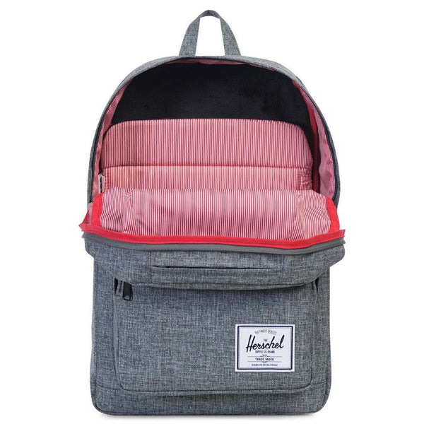 Pop Quiz Backpack in Raven Crosshatch by Herschel Supply Co. - FINAL SALE