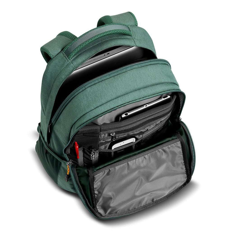 Recon Backpack in Darkest Spruce and Silver Pine Green Light Heather by The North Face