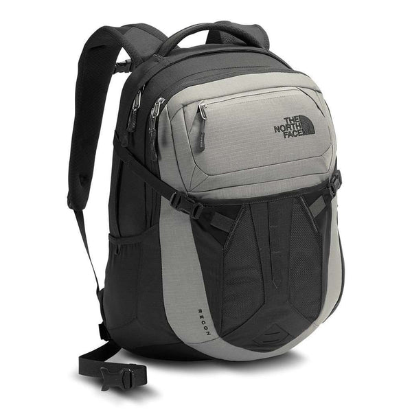 Bags - Recon Backpack In Limestone Grey And Asphalt Grey By The North Face