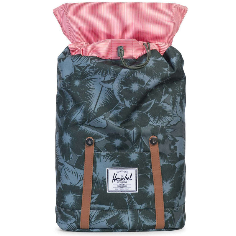 8ebc114133e9 Bags - Retreat Backpack In Jungle Floral Green By Herschel Supply Co.