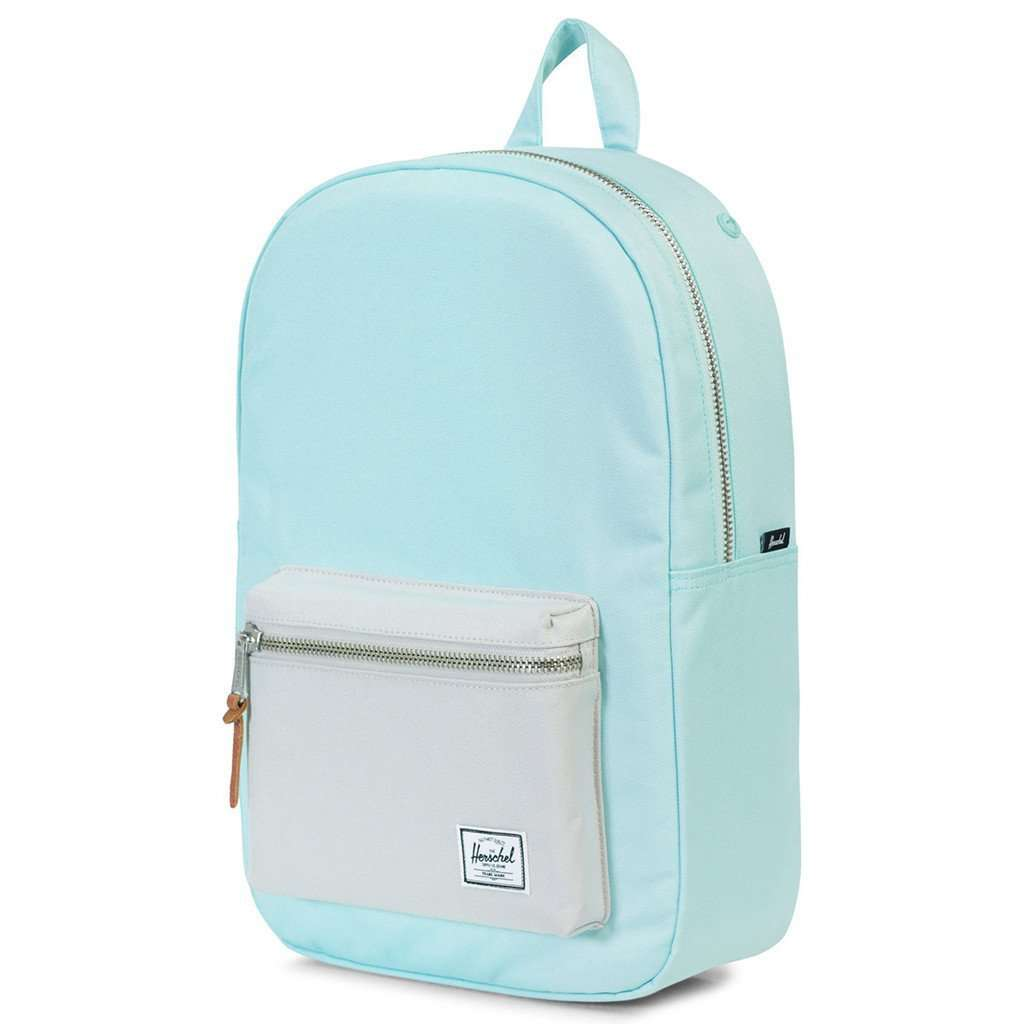 317828e722c Settlement Mid Volume Backpack in Blue Tint and Glacier Grey by Herschel  Supply Co. - FINAL SALE