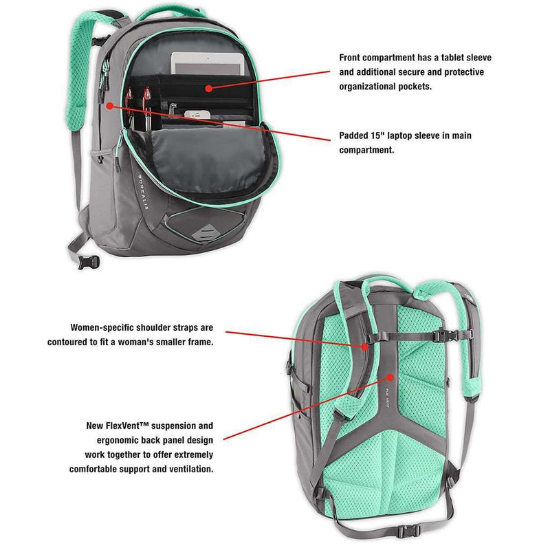 Bags - Women s Borealis Backpack Bright Navy And Urban Navy Heather By The  North Face cddac76968c0b