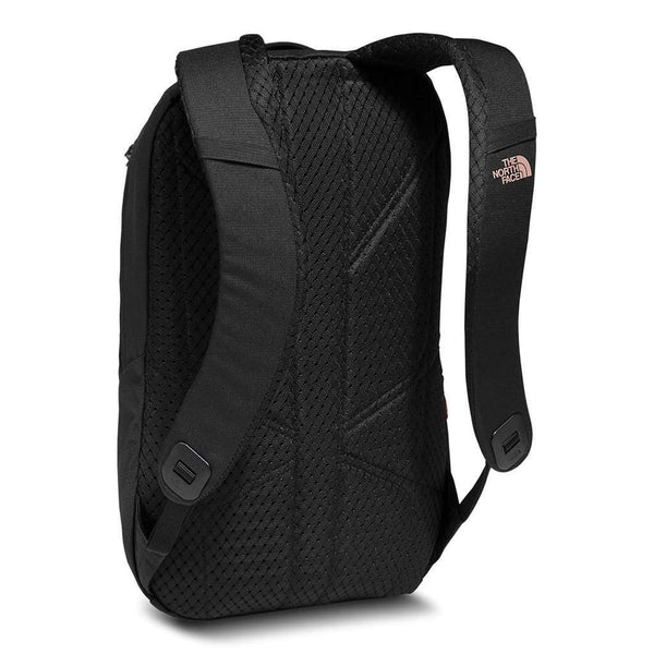 Women's Electra Backpack in Black and Rose Gold by The North Face