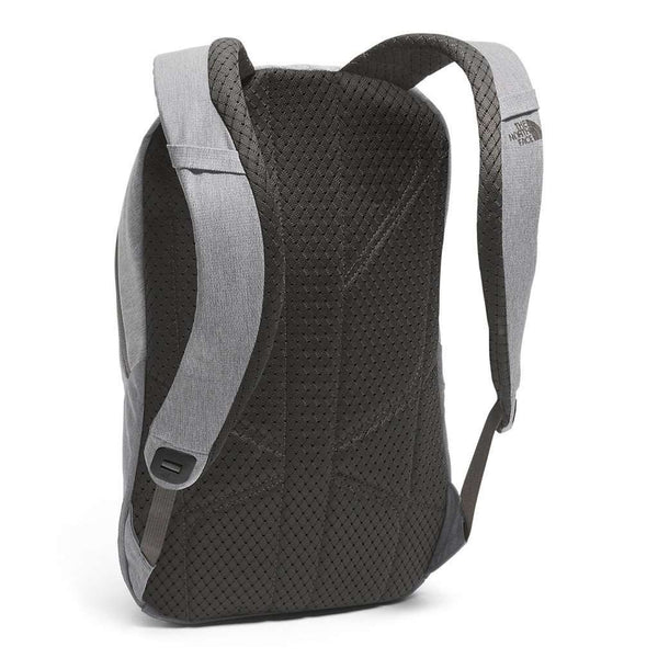 Women's Electra Backpack in Medium Grey Heather and Ice Green by The North Face