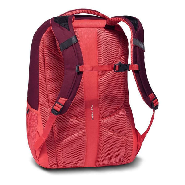 Women's Jester Backpack in Cayenne Red Emboss by The North Face