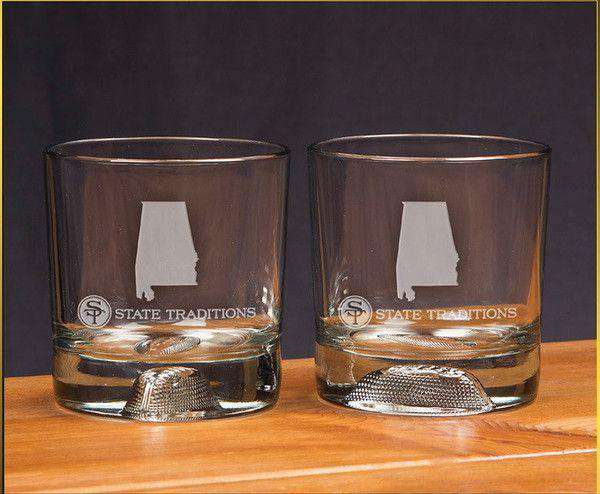 Alabama Gameday Glassware (Set of 2) by State Traditions