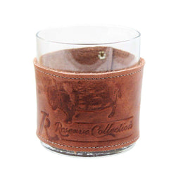 Bison Wrapped Bourbon Glass by Over Under Clothing