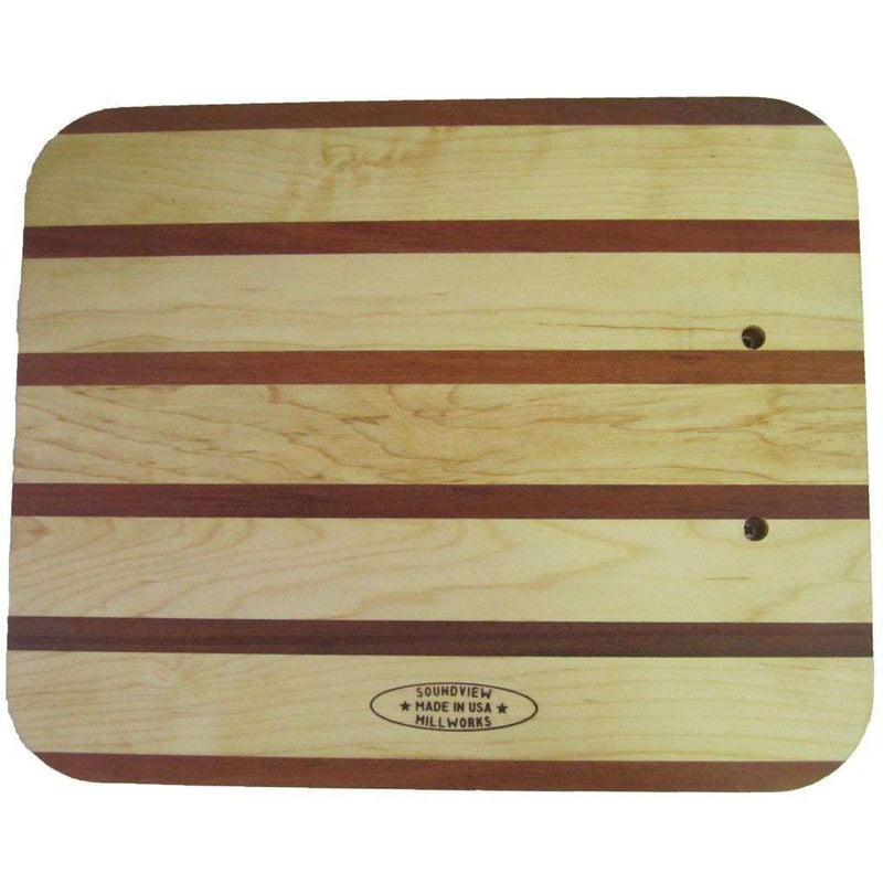Carving Board in Maple and Mahogany by Over Under Clothing