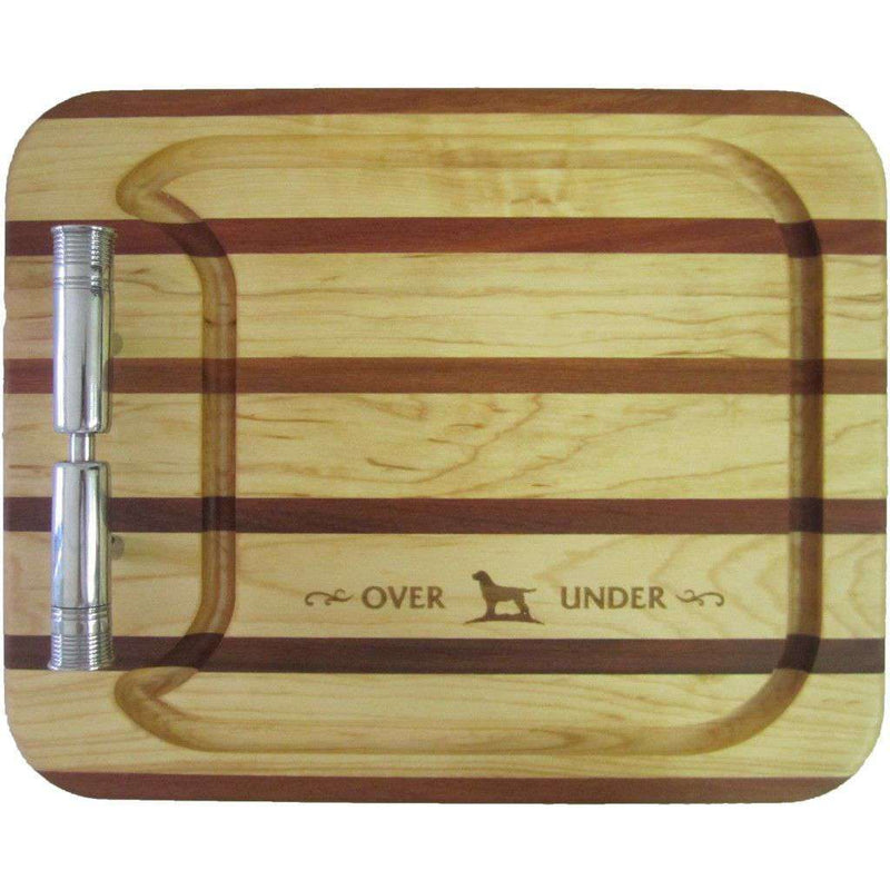 Bar & Glassware - Carving Board In Maple And Mahogany By Over Under Clothing