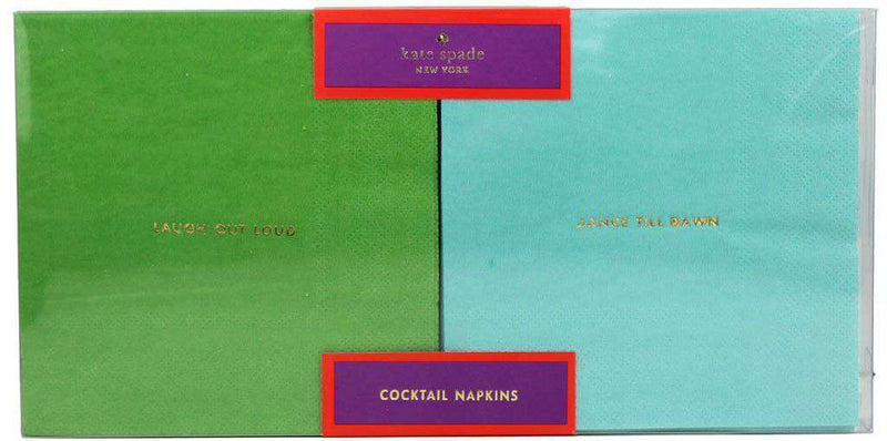 Bar & Glassware - Cocktail Napkins In Multi-Color By Kate Spade New York