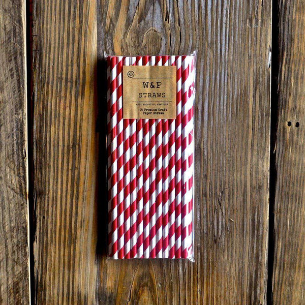 Craft Paper Straws by W&P Design - Country Club Prep