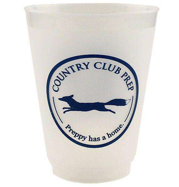Bar & Glassware - Dress Code Cups - Set Of 11 By Country Club Prep