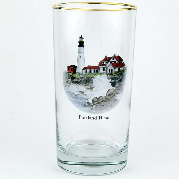 Bar & Glassware - Lighthouse High Ball Glasses By Richard E. Bishop