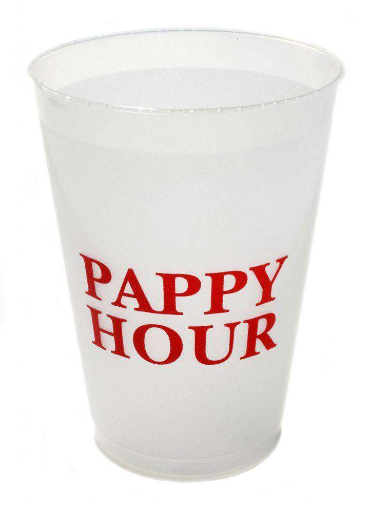 Bar & Glassware - Pappy Hour - Set Of 12 -16 Oz. Shatterproof Cups By Pappy Van Winkle