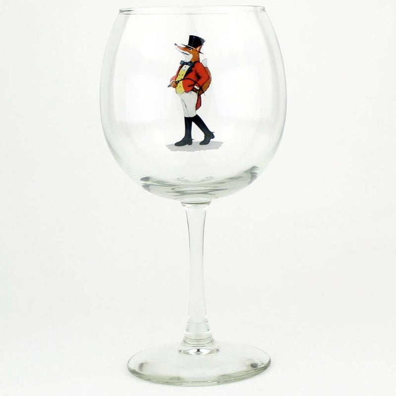 Bar & Glassware - Snooty Fox Wine Glass Set By Richard E. Bishop