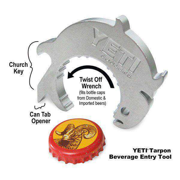 Bar & Glassware - Tarpon Beverage Entry Tool By YETI