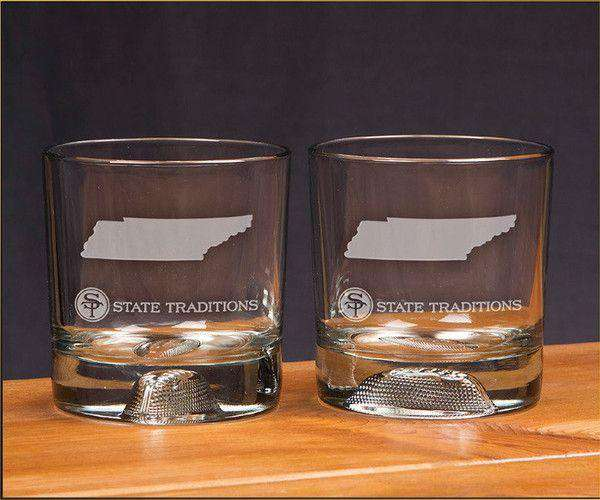 Tennessee Gameday Glassware (Set of 2) by State Traditions
