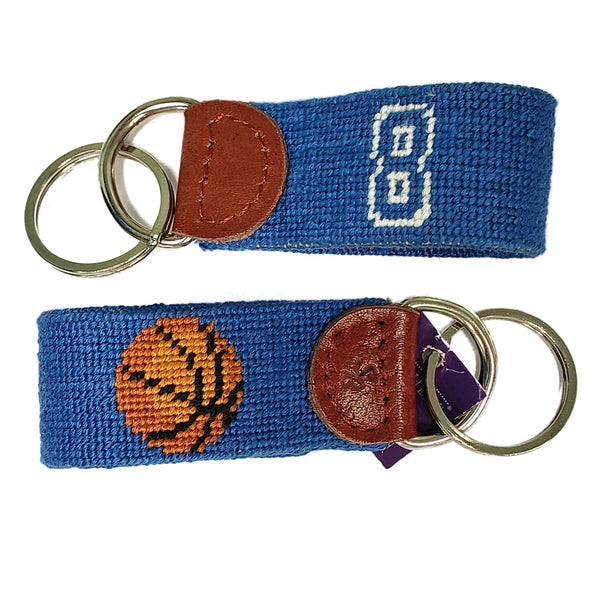 Kentucky Basketball 8 Needlepoint Key Fob by Smathers & Branson