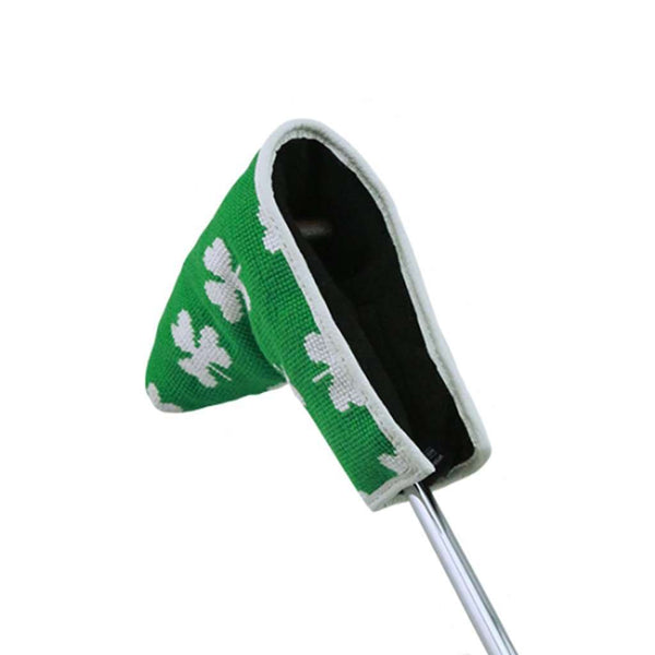Smathers and Branson Shamrock Putter Needlepoint Putter Headcover by Smathers & Branson