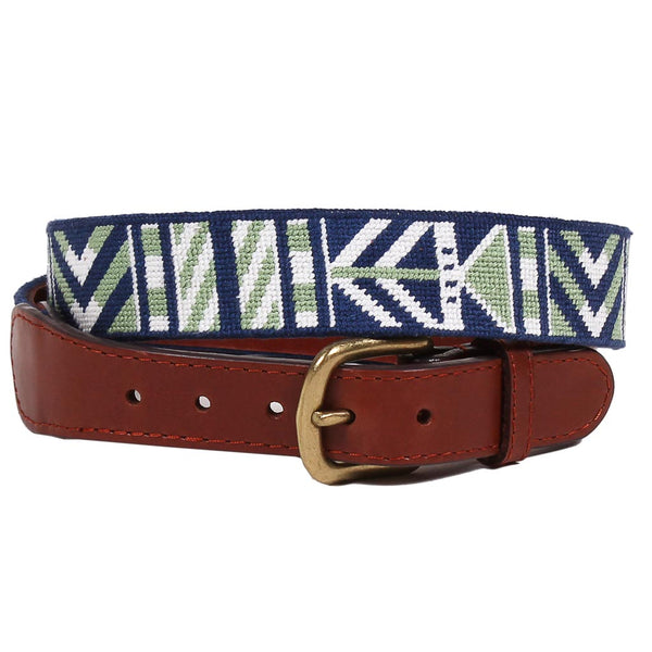 Brunswick Needlepoint Belt by Smathers & Branson