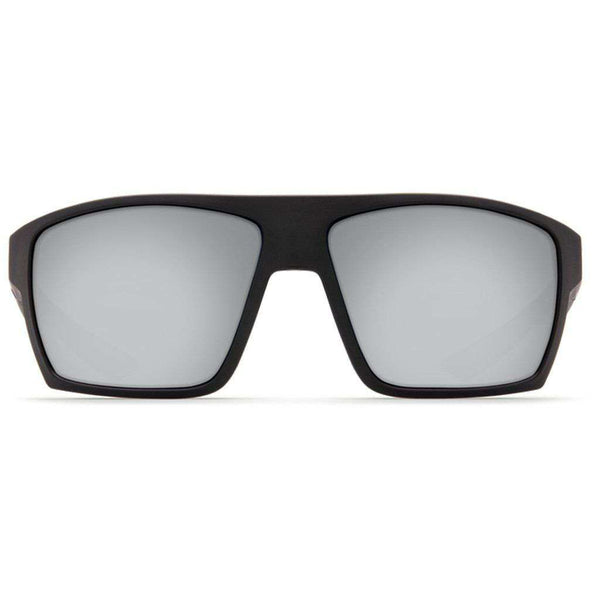 Costa del Mar Bloke Sunglasses in Matte Black & Matte Gray with Gray Polarized Glass Lenses