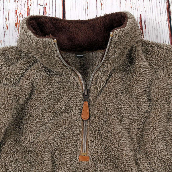 Nordic Fleece Two-Toned Kangaroo Pullover by Nordic Fleece
