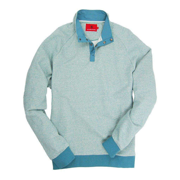 Blue Ridge Pullover in Silt Green by Southern Proper