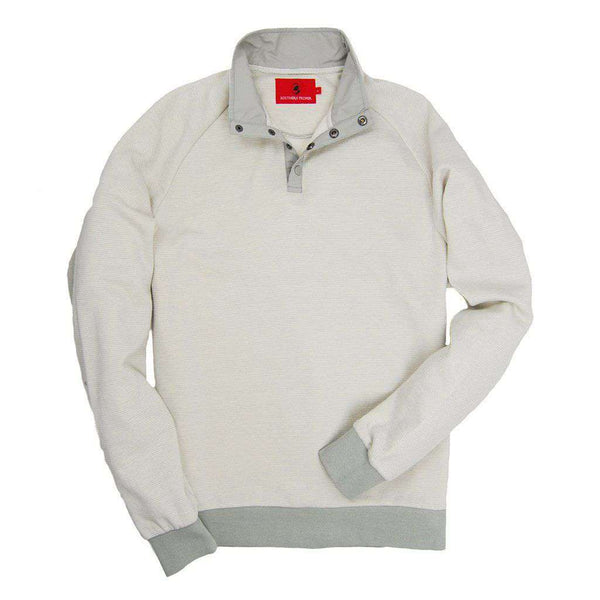 Blue Ridge Pullover in Glacier Grey by Southern Proper