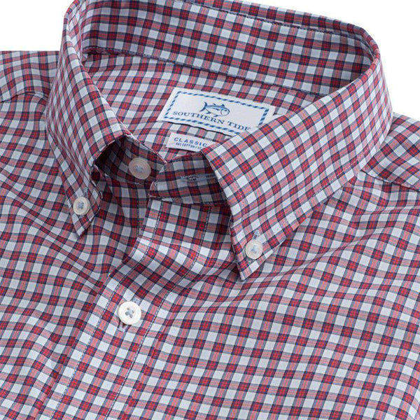 Southern Tide Bluefin Check Button Down Shirt by Southern Tide