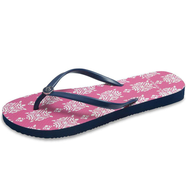 Boardwalk Flip Flop in Turtlepoint Print by Southern Tide