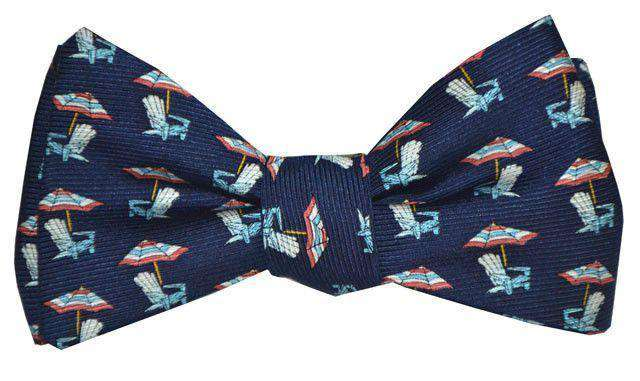 Bow Ties - Adirondack Bow Tie In Blue By Southern Proper