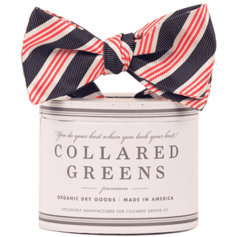 Bow Ties - Affirmed Bow In Red, White And Blue By Collared Greens