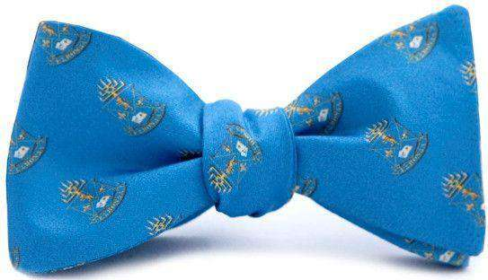 Bow Ties - Alpha Epsilon Pi Bow Tie In Blue By Dogwood Black