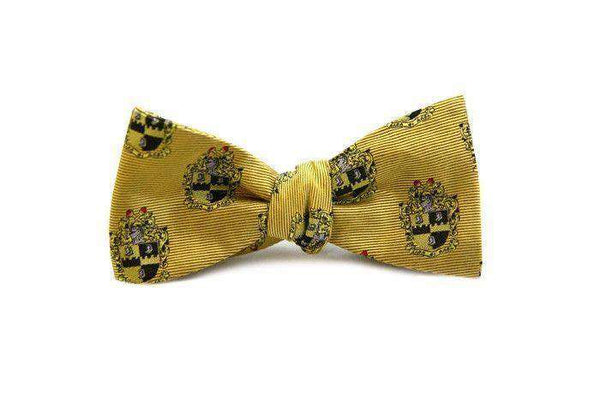 Bow Ties - Alpha Phi Alpha Bow Tie In Gold By Dogwood Black