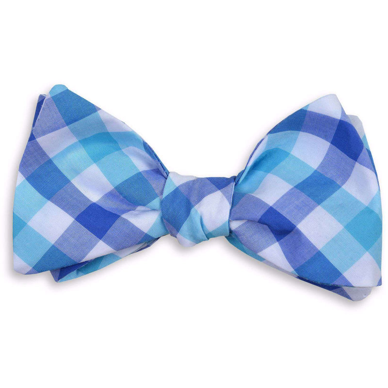 Bow Ties - Battery Check Bow Tie In Blue By High Cotton