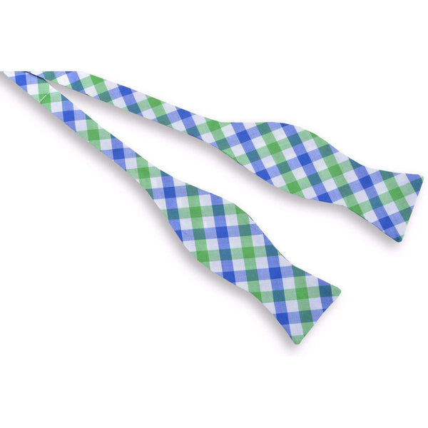 Bow Ties - Battery Check Bow Tie In Green By High Cotton