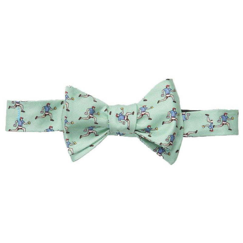 Bow Ties - Beer Run Bow Tie In Green By Southern Proper