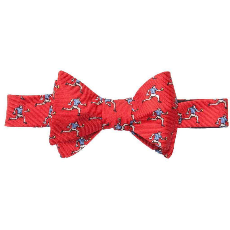 Bow Ties - Beer Run Bow Tie In Red By Southern Proper