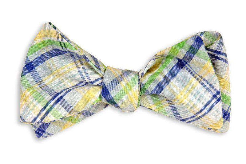 Bow Ties - Belle Haven Madras Bow Tie By High Cotton