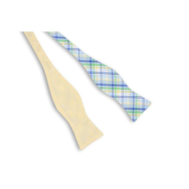 Bow Ties - Belle Haven Madras Reversible Bow Tie By High Cotton