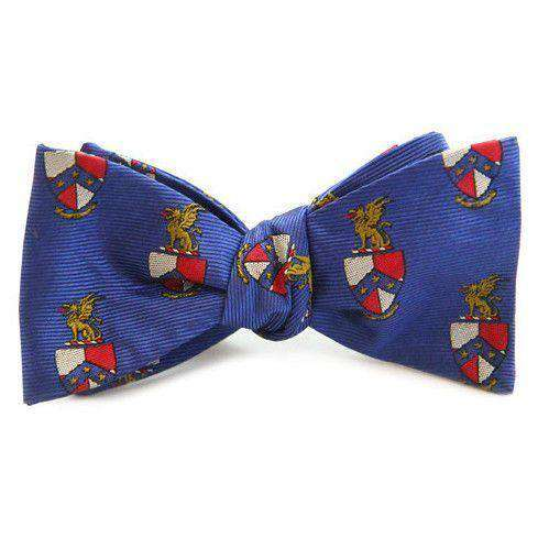 Beta Theta Pi Bow Tie in Blue by Dogwood Black