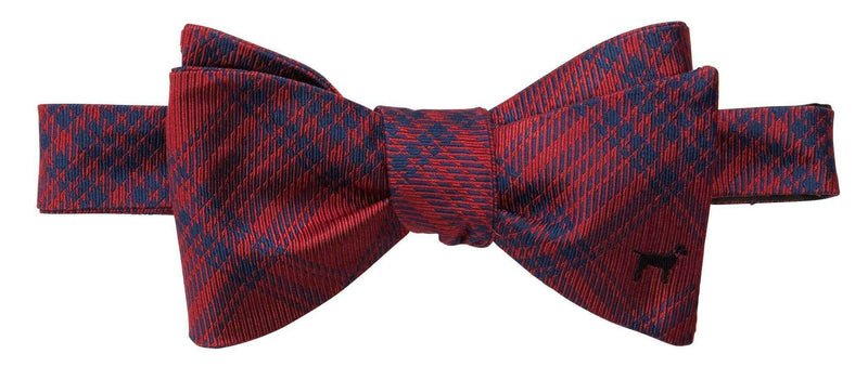 Bow Ties - Black Lab Bow Tie In Red By Southern Proper