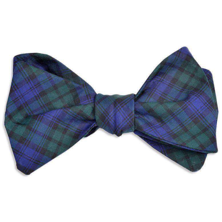 7856a63513a0 bow-ties-black-watch-bow-tie-in-green-navy-plaid -by-high-cotton-1.jpg?v=1519505311
