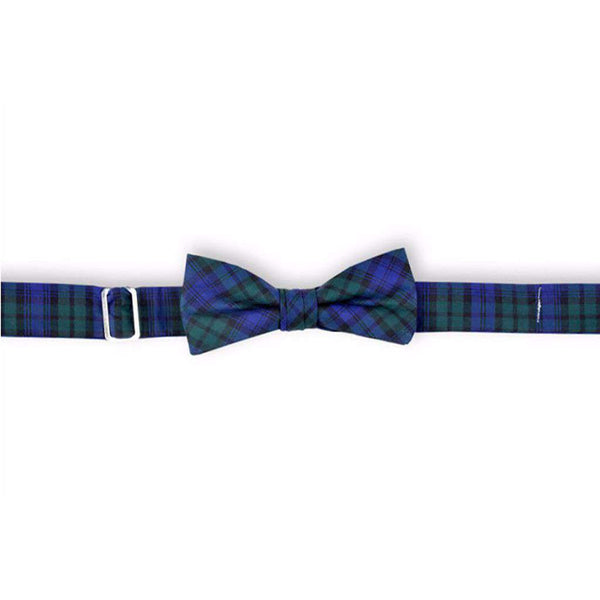 Bow Ties - Black Watch Boy's Bow Tie By High Cotton