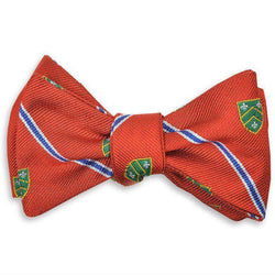 Bow Ties - Caldwell Bow Tie In Orange By High Cotton - FINAL SALE