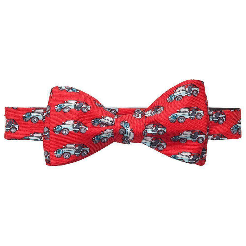 CJ-7 Bow Tie in Red by Southern Proper
