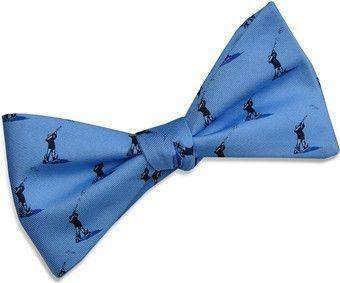 Bow Ties - Clay Shoot Bow Tie In Blue By Bird Dog Bay