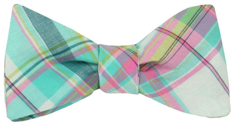 Bow Ties - Clearwater Madras Bow Tie In Pastel Madras By High Cotton