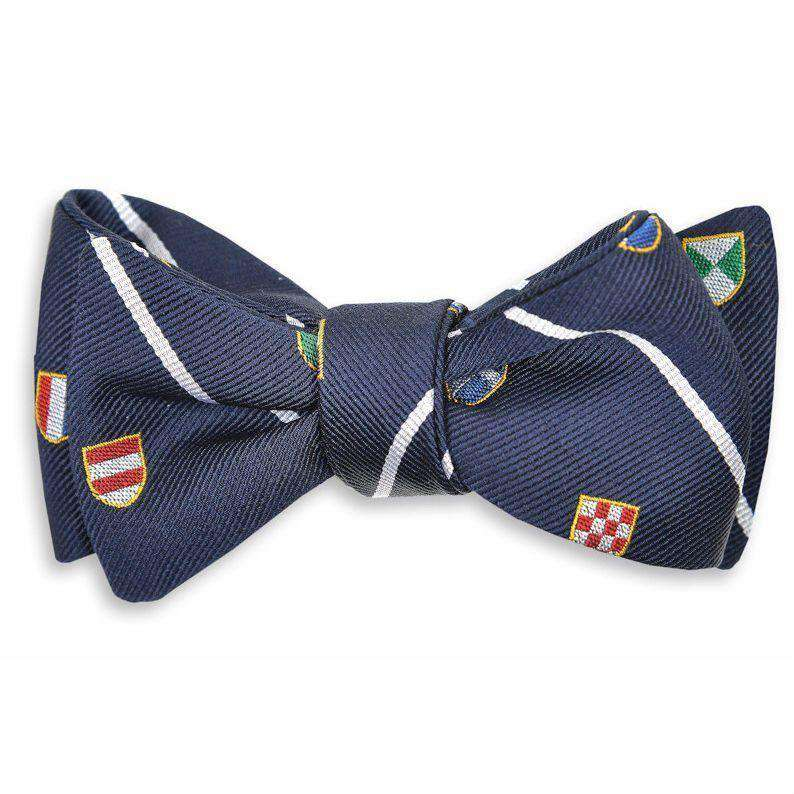 Club Master Bow Tie in Navy by High Cotton - FINAL SALE