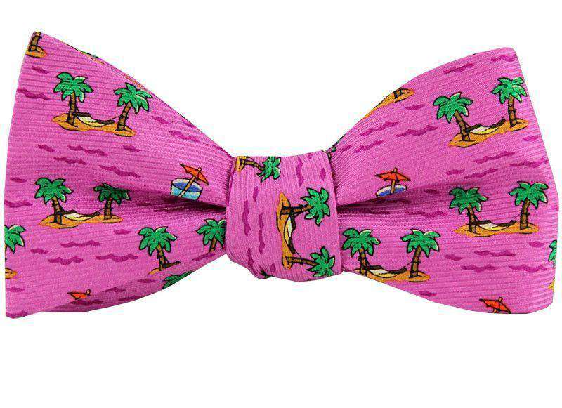 Bow Ties - Cocktail And Hammock Bow Tie In Pink By Southern Proper